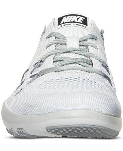 Nike Vrouwen Vrije Tr Aandacht Flyknit - Wit / Grijs - Maat 5