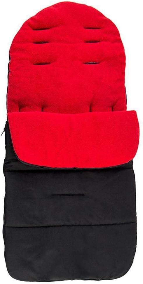 Hunpta Baby Sitzauflage // Sitzeinlage Moby mit Sommer- und Winterseite Universal f/ür Babyschale f/ür Kinderwagen Buggy Rot