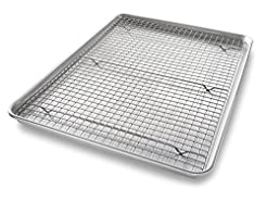 USA Pan Bakeware Quarter Sheet Baking Pa...