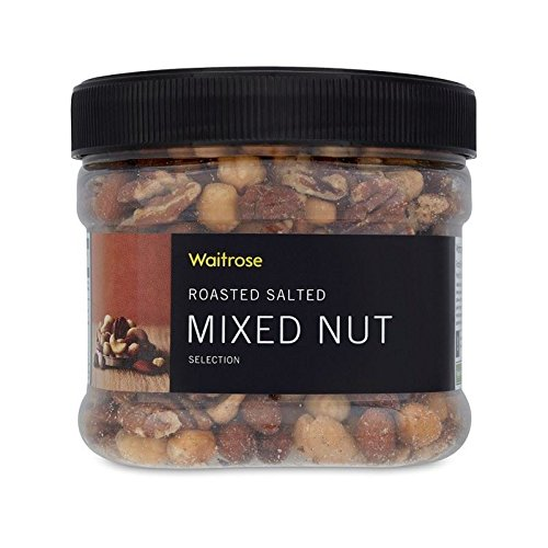 Luxury Roasted Salted Mixed Nuts Waitrose 400g - Pack of 6