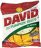 David Seeds, Pumpkin Seeds, 5-Ounce Bags (Pack of 4)