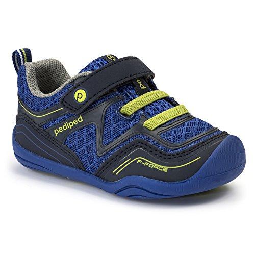 Grips Force (pediped Grip Force Athletic Shoe (Toddler), Surfer Blue, 21 EU(5.5 E US Toddler))