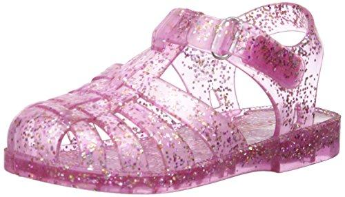 Jelly Shoes (OshKosh B'Gosh Girls' Marie Jelly Fisherman Sandal, Pink, 8 M US Toddler)