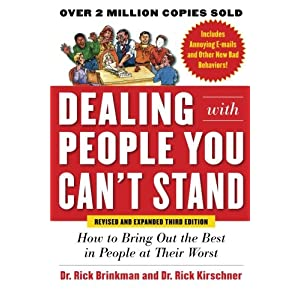 Dealing with People YouCan't Stand