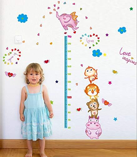 Kibi Dumbo Tabella Di Altezza Bambini Misuratore Crescita Decalcomania  Rimovibile Metro Adesivi Muro Camera Da Letto Bambini Stickers Metro  Bambini Tema ... dbfc1b24899