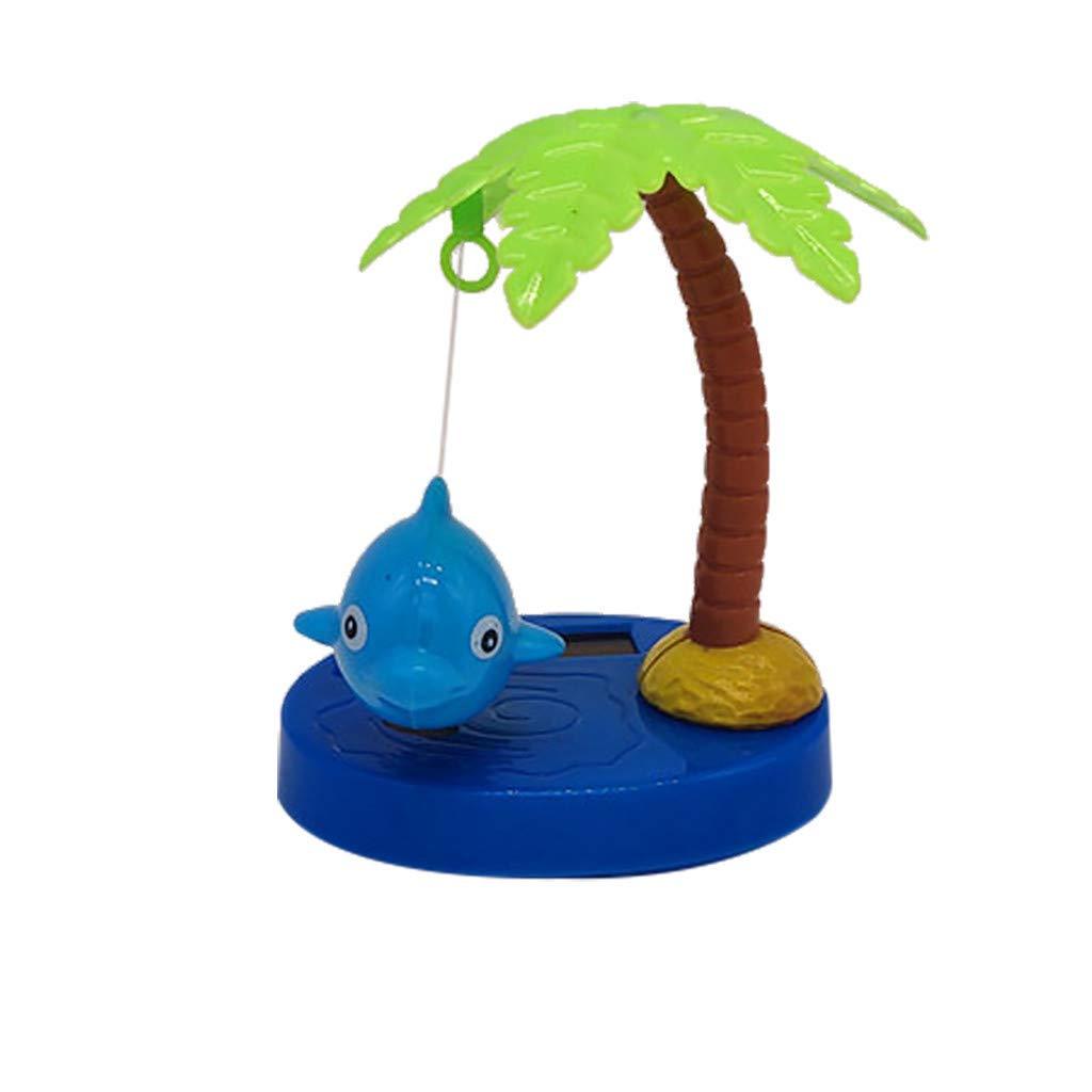 Solar Swinging Animated Donkey Bobble Dancer Toy Car Decoration Kids Toys Gift