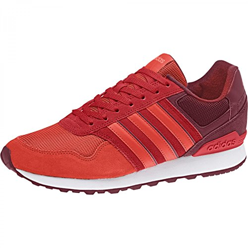 adidas Men 10k Running Shoes, Green Multicolour (Collegiate Burgundy/Core Red S17/Solar Red Collegiate Burgundy/Core Red S17/Solar Red)