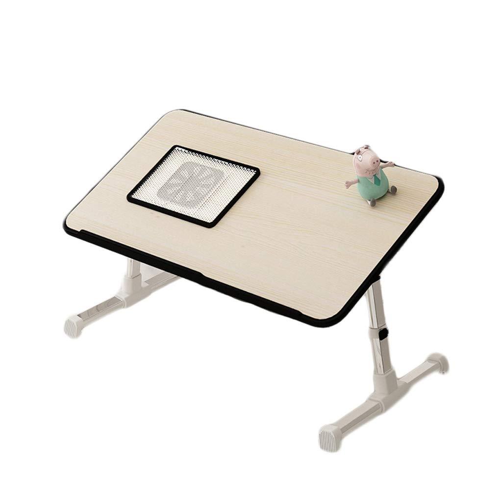 LITING Tavolo da Gioco Pieghevole Computer Home Camera da Letto Multifunzione Tavolo da Studio per Notebook Semplice Mini (Dimensioni   Fan Standard)