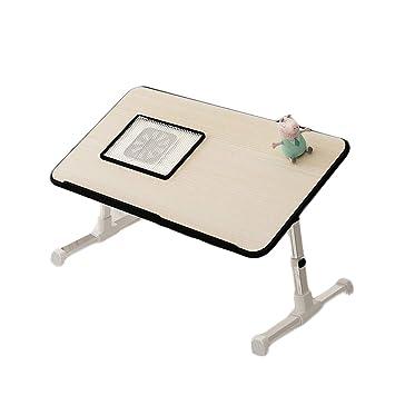 Mesa Plegable Cama Ordenador Dormitorio en casa Cuaderno ...