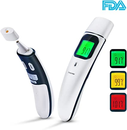 Patgoal Oral LCD Digital Thermometer High-Accuracy Temperature Measurement Detector for Baby Kids Adult 1PC