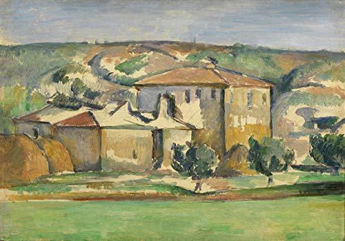 (Paul Cezanne Provencal Manor Princeton University Art Museum 30