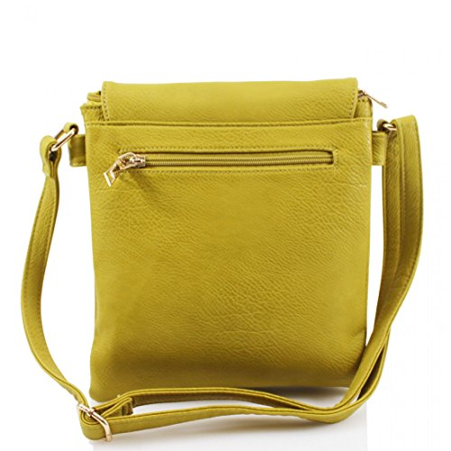 Trim Femme À Gold Porter London Yellow Pour Sac Craze L'épaule qPSzF