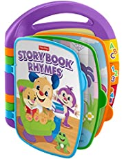 MATTEL CDH24 Fisher-Price Laugh and Learn Storybook Rhymes Book