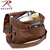 Rothco Vint Canvas B-15 Pilot Messenger Bag -Brn