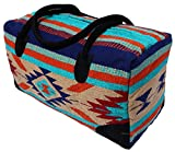 El Paso Designs Southwest Duffel Bag- Camino Real Native American and Mexican Style Jumbo Large Travel Bags (Santa Monica)