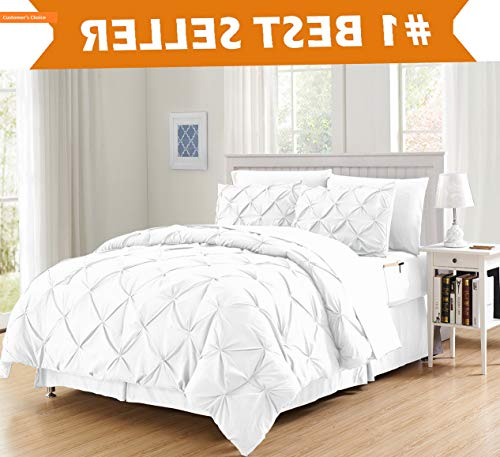 - Mikash Luxury Best, Softest, Coziest 6-Piece Bed-in-a-Bag Comforter Set on ! - Silky Soft Complete Set Includes Bed Sheet Set with Double Sided Storage Pockets, Twin/Twin XL, White | Style 84598946