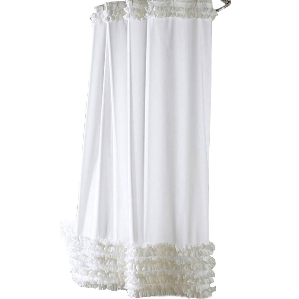 Amazon Ruffle Shower Curtain
