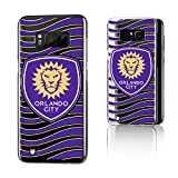 Keyscaper Orlando City Soccer Club Wave Galaxy S8 Clear Slim Case MLS
