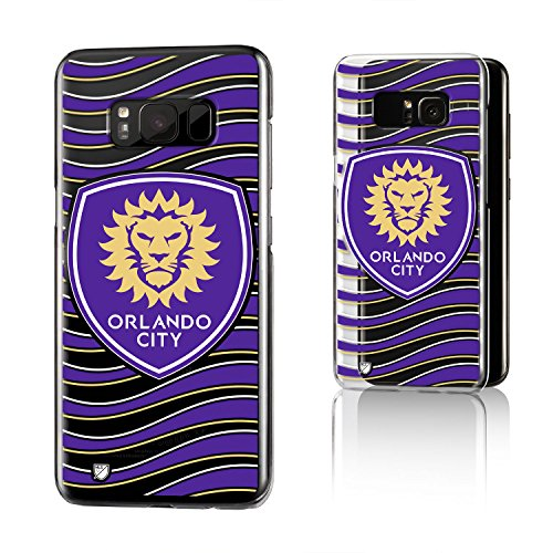 Keyscaper Orlando City Soccer Club Wave Galaxy S8 Clear Slim Case MLS by Keyscaper