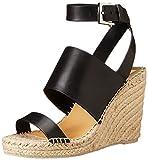 Dolce Vita Women's Nessah Espadrille Sandal, Black, 8 M US