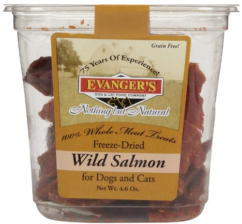 Evangers Freeze Dried Treats – Salmon – 4.6 oz, My Pet Supplies