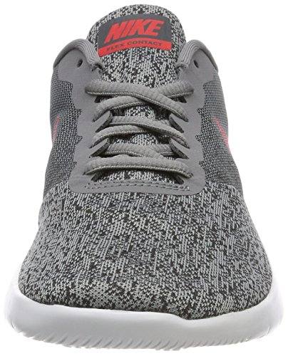 Men's Cool Grey Flex Contact Red NIKE Anthracite Running Shoe wHZwqd