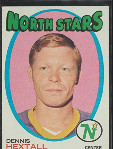 1971-72 Topps Dennis Hextall North Stars Hockey Card #128 ()