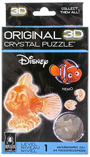 Bepuzzled Disney Finding Nemo Original 3D Crystal Puzzle Nemo Clown Fish