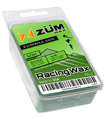ZUMWax SkiSnowboard Racing Wax