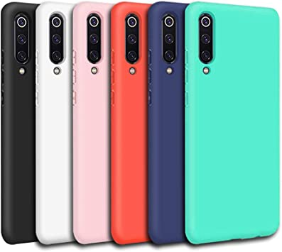 6X Funda Samsung A50, Silicona Funda para Samsung A50 Flexible ...