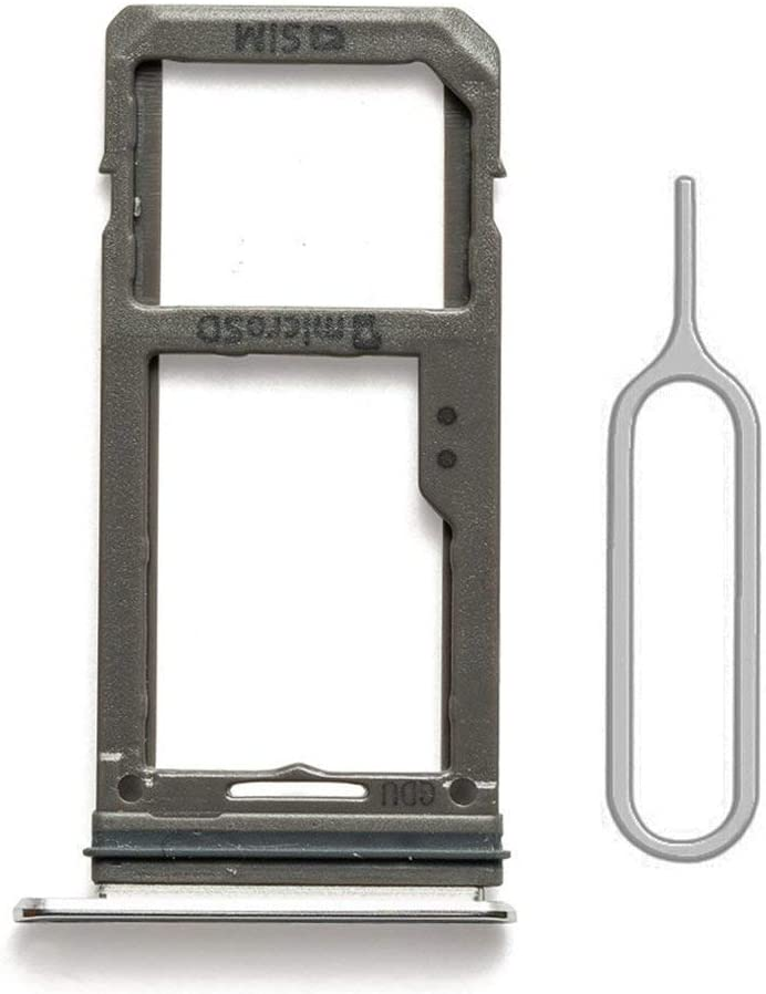 SIM Card Tray Holder Slot Replacement with Gasket for Samsung Galaxy S7 G930 Grey