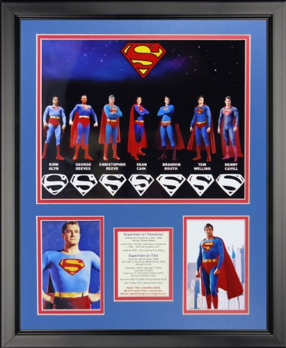"Legends Never Die Superman Collage Photo Frame, 16"" x 20"""