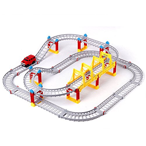 Urban Rail Changeable DIY Electric Puzzle Toy Car Model