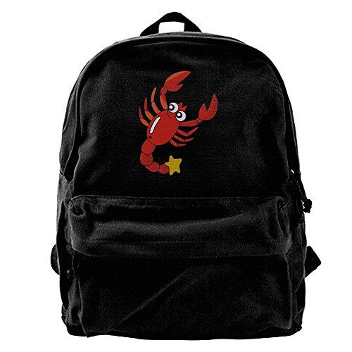 Cartoon Cray Mens And Women Backpacksshoulder Cool Laptop Bag