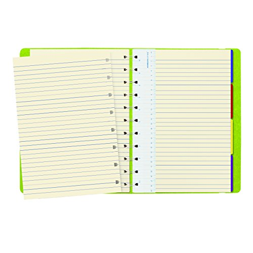 """Letter Size Notebook, 10.875"""" x 8.5"""", 112 Ruled Pages, Pear (B115107U) Photo #2"""
