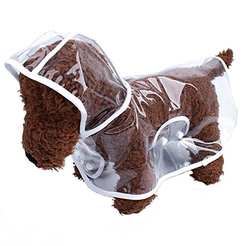 Dog Puppy Raincoat - 3