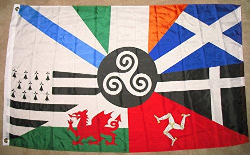 celtic nations flag irish banner