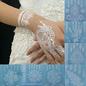 chengyida 9 stlye latest design white henna