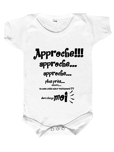 taille 40 83786 f545f body bébé personnalisé, vêtement bébé humour,phrase rigolote ...