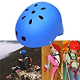 Kaluo Kids Adjustable Protective Safety Helmet for Roller Skate Bicycle Skateboard Hoverboard Extreme Sports Activities(US Stock) (Light Blue)