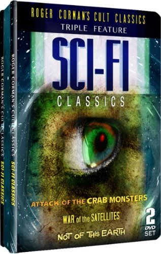 Roger Corman's Cult Classics – SCI-FI Classics Triple Feature – Embossed Slim Tin