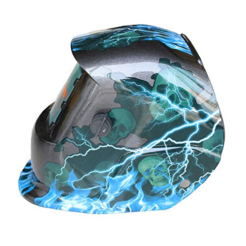 LAIABOR Casco de Soldadura Solar Powered automático Variable automática Soldadura máscara Soldador Soldadura Cap argón Arco Soldadura Casco,Blue: Amazon.es: ...