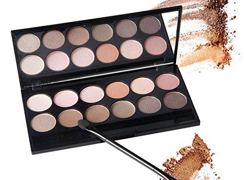 Eyeshadows Palettes Matte Makeup Shimmer Smoky Eyeshadow Pal