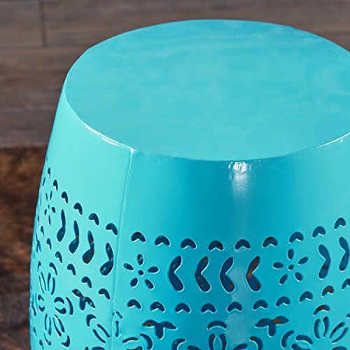 Apple-Valley-Lace-Cut-Blue-Iron-Accent-Table
