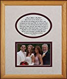 8x10 MY OTHER MOTHER Picture & Poetry Photo Gift Frame ~ Cream/Burgundy Mat ~ Heartfelt Keepsake Picture Frame for a Mother in Law, Stepmother for Christmas, Birthday or Wedding