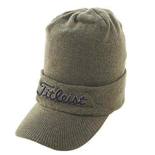 タイトリスト TITLEIST 帽子 ツバ付きニットキャップ HW7CVK