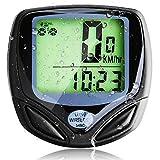 Basecamp Wireless Bike Computer, Wireless Bicycle Speedometer/Cycling Odometer with Waterproof Digital LCD Multi Function