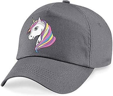 laylawson Unicorno Cappellino da Baseball Ragazze Bambini Cappello Estivo