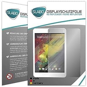 "2 x Slabo protector de pantalla HP 8 1401 lámina protectora de pantalla ""No Reflexion - No Reflexiones"" MATE suprime reflejos MADE IN GERMANY"
