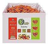 Bentilia Organic Gluten-free Lentil Pasta, Red Lentil Penne Organic, 10 lb, Bulk Case - 100% Natural, Low Glycemic Index, High Protein & Fiber, Non-GMO, Kosher Pasta